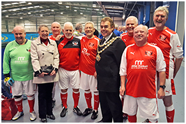 Fleetwood Town Flyers @ Wigan Soccerdome
